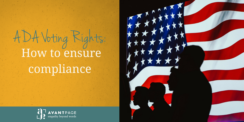 ADA Voting Rights: How to ensure compliance