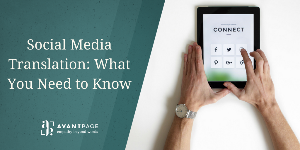 Social Media Translation: What You Need to Know