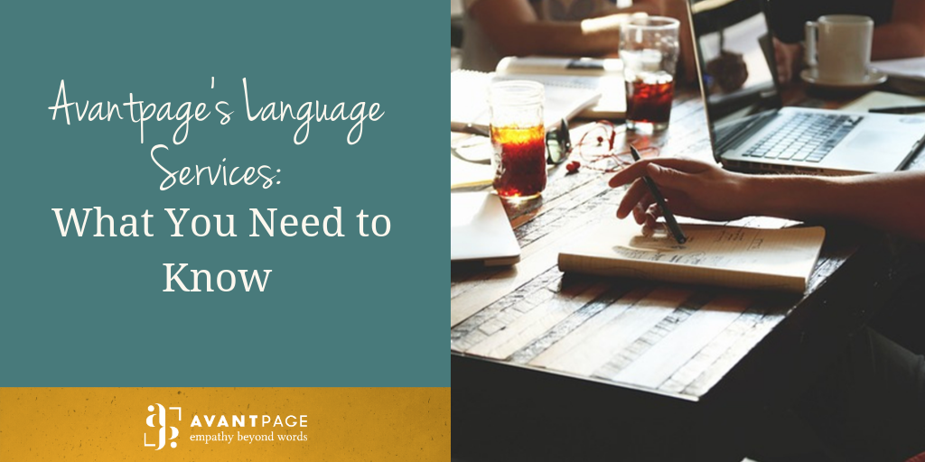 Avantpage's Language Services: What You Need to Know