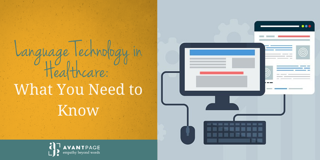Language Technology in Healthcare: What You Need to Know
