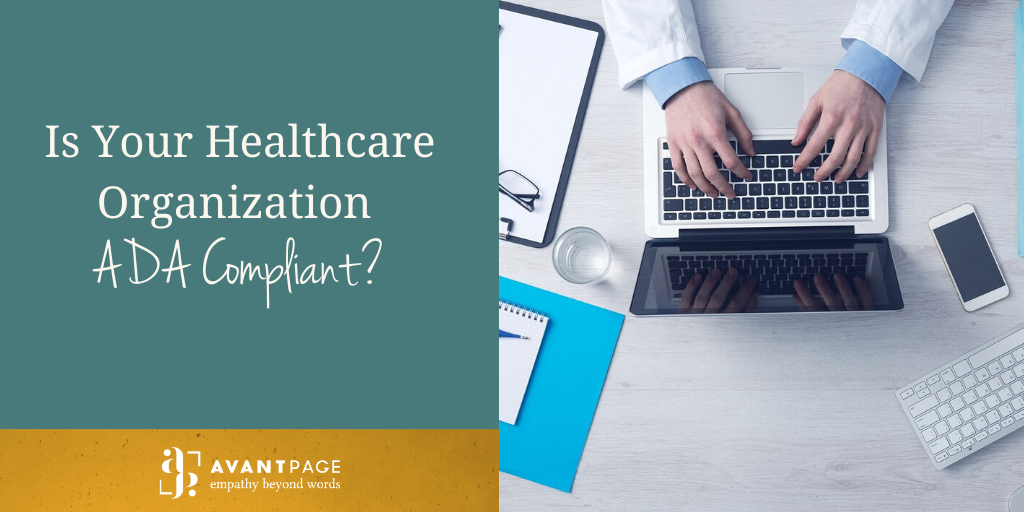 Is Your Healthcare Organization ADA Compliant?