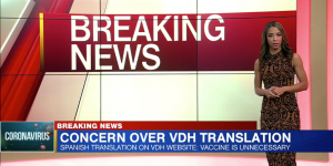 Translation on Virginia Department of Health's website told Spanish-readers they didn't need the COVID-19 vaccine