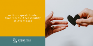 Accessibility at Avantpage