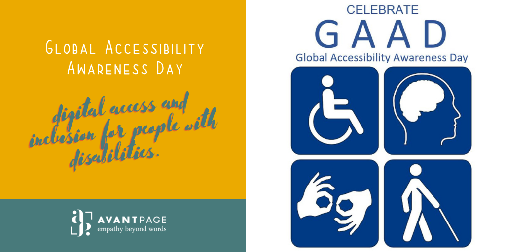 Get involved! Today is the Global Accessibility Awareness Day